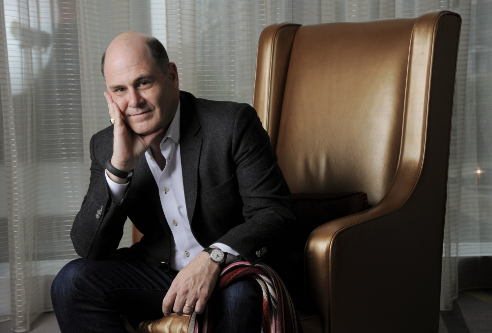 """""""Mad Men"""" creator Matthew Weiner voices both resolve and wonderment at his task of bringing """"Mad Men"""" in for a landing. His goal, he says, is not to wallop the audience with a grand parting shot, but something more gently profound: """"to leave the characters in a place where they're going to be in viewers' imaginations forever."""""""