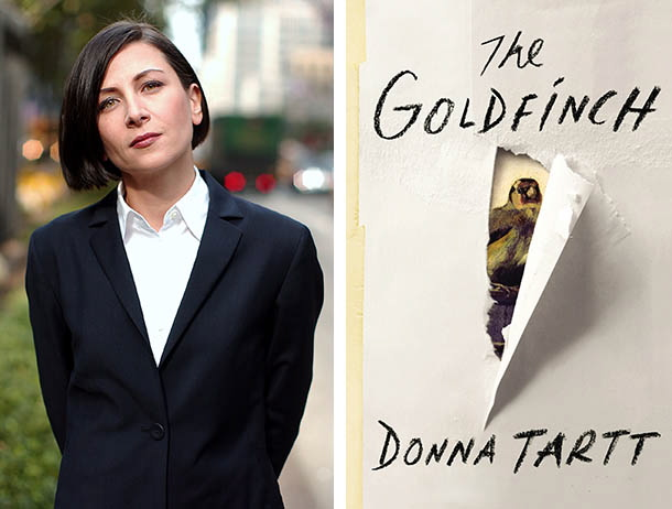 "Donna Tartt's ""The Goldfinch"" won the Pulitzer Prize for fiction Monday."