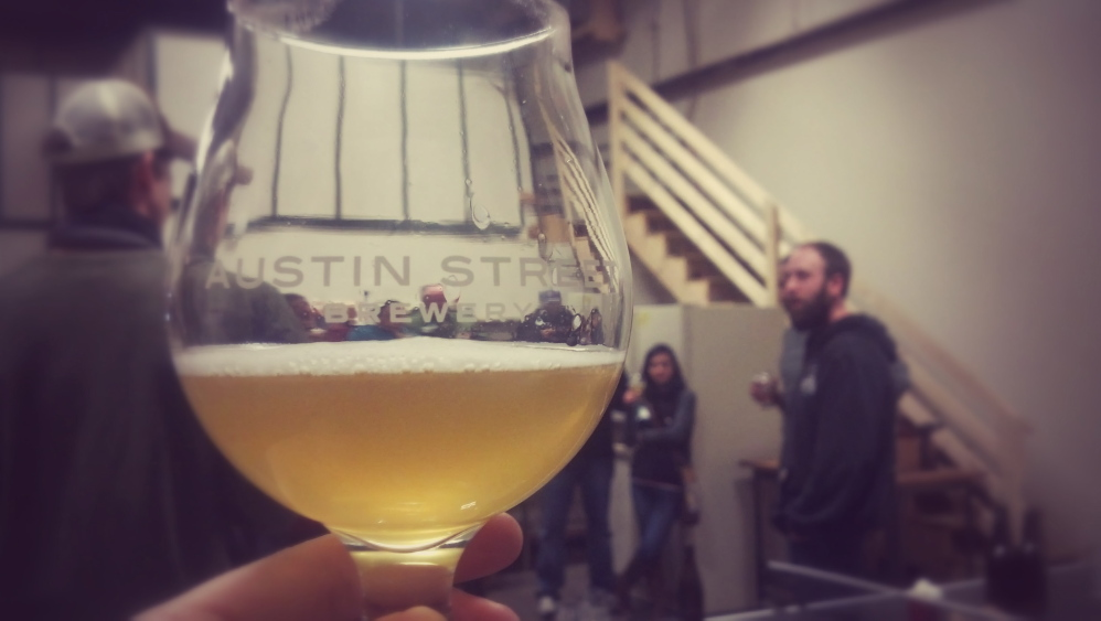 Austin Street Brewery's Patina Pale Ale is its only product, so far, but the new Portland brewer plans to put out an IPA in collaboration with the Bier Cellar soon.