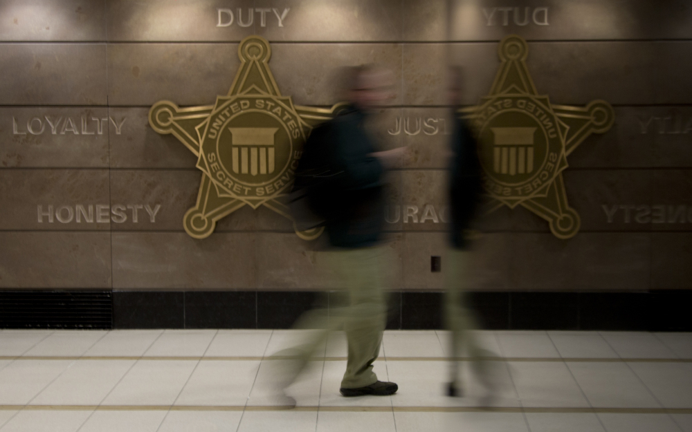 A man walks through a hall at Secret Service offices in Washington. Secret Service investigators say it could take years to identify the hackers who breached Targetís computer systems in December – and even longer to bring them to justice.