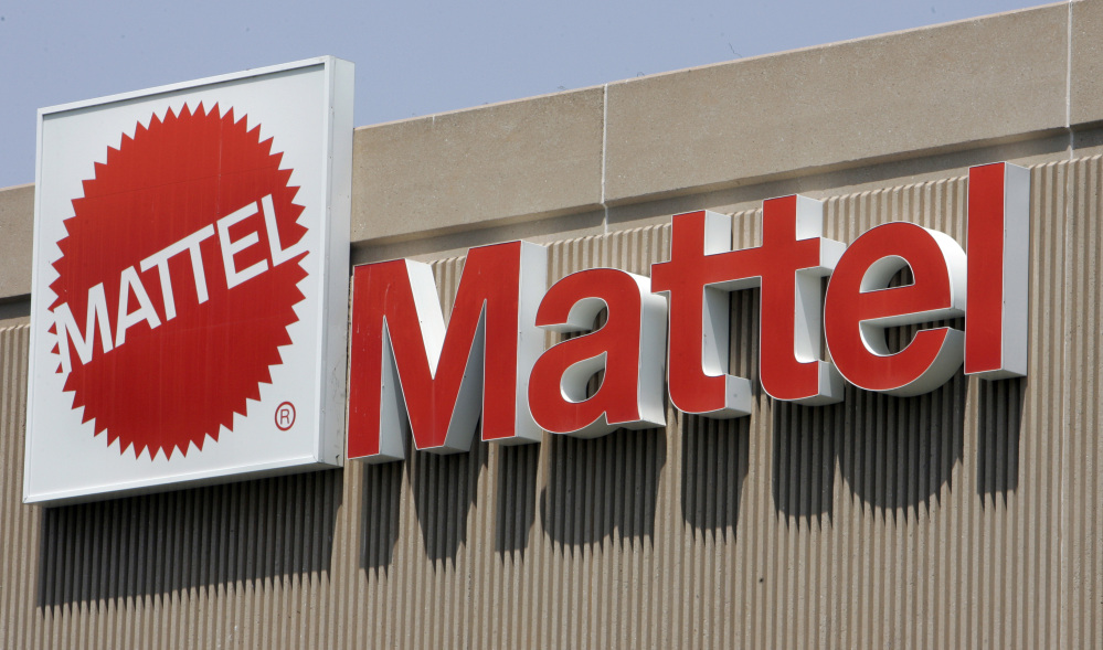 Toy maker Mattel said Thursday weak sales of Barbie and markdowns to clear out excess inventory left over from a sluggish holiday season led to an unexpected first-quarter loss.
