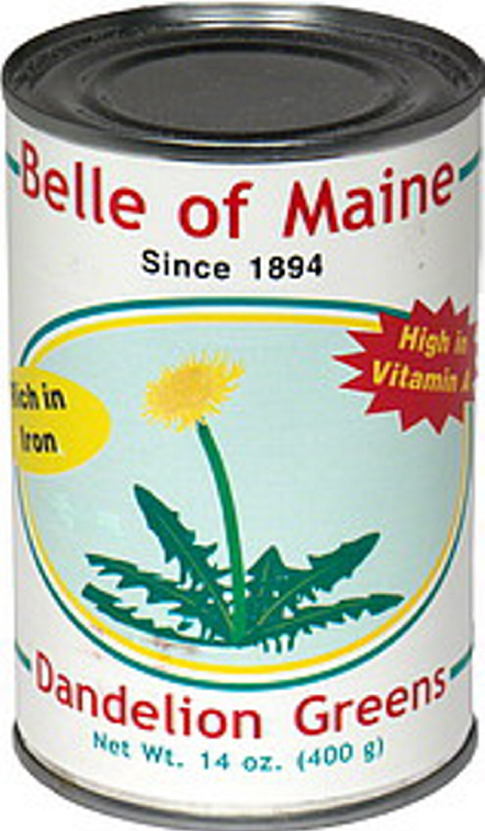 W.S. Wells and Son canned greens under the Belle of Maine label.