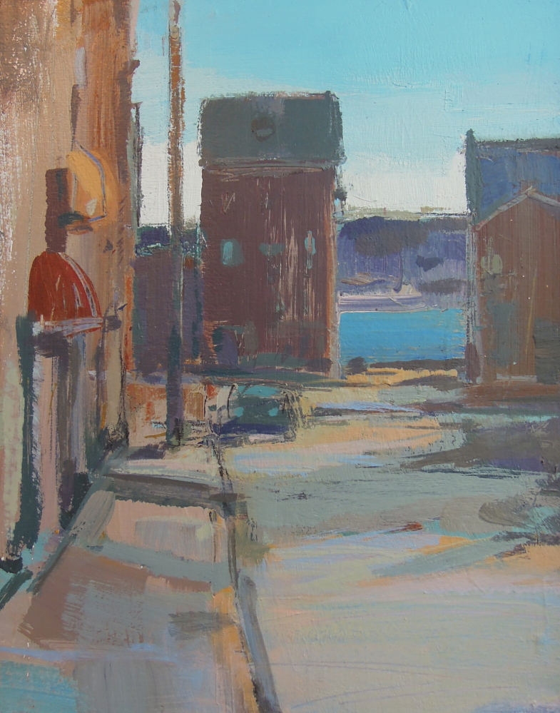 """Silver Street"" by Roy Germon"