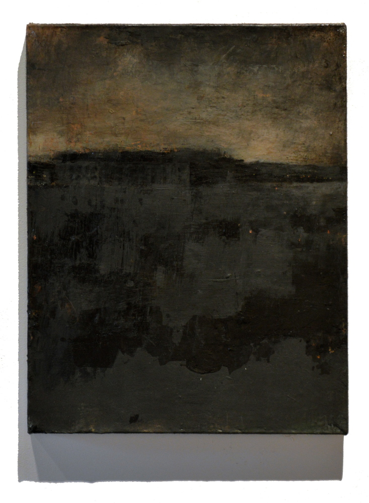 """""""Nocturne (Fort Gorges)"""" by Tom Hall"""