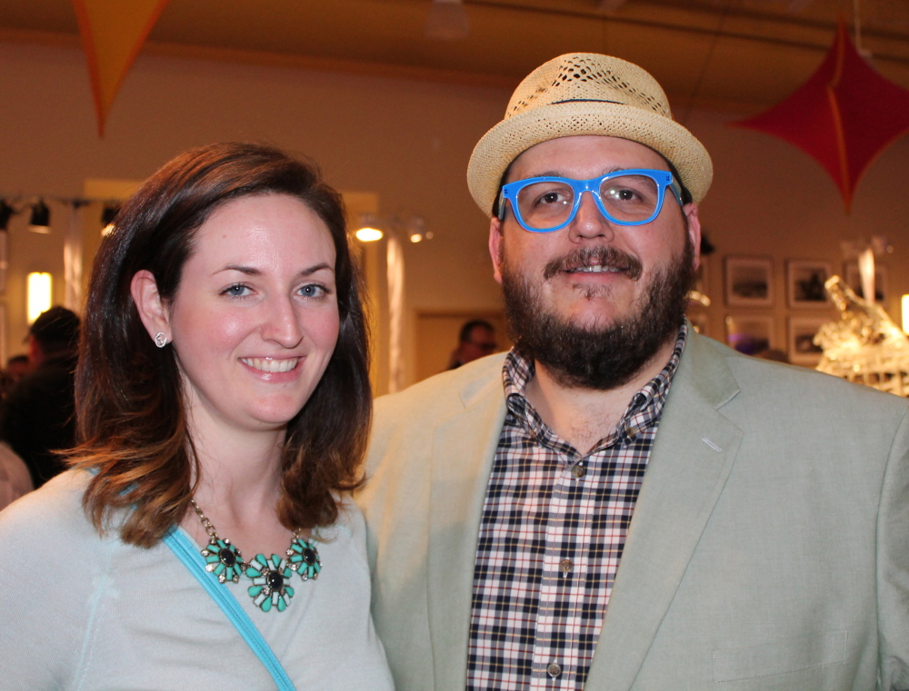 Sarah and Pete Dubuc of South Portland at Toast on the Coast