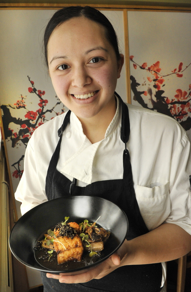 Chef Cara Stadler has been nominated for a James Beard Award in the Rising Star Chef of the Year category.