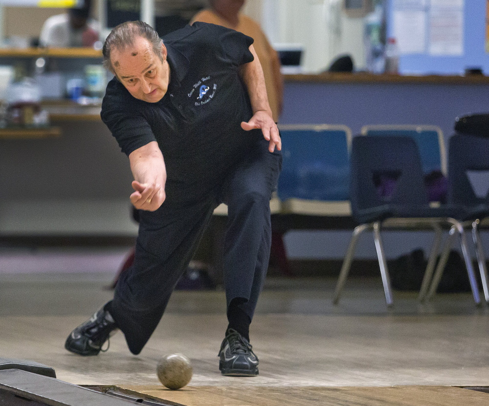 Don Saucier, 73, of Old Orchard Beach will be inducted into the International Candlepin Bowling Association's Hall of Fame.