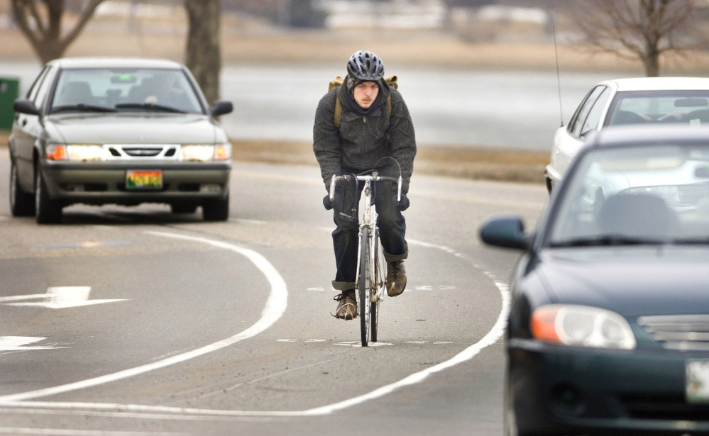 Bikers won't have to compete for space on part of Baxter Boulevard on Sundays. The city will close a stretch of the road starting May 4.