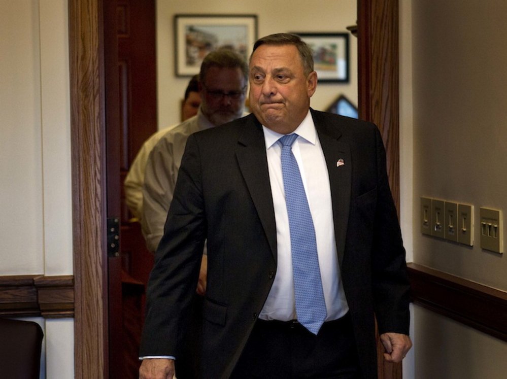 Gov. Paul LePage as vetoed a bill that would direct the administration to report on efforts to combat welfare fraud.