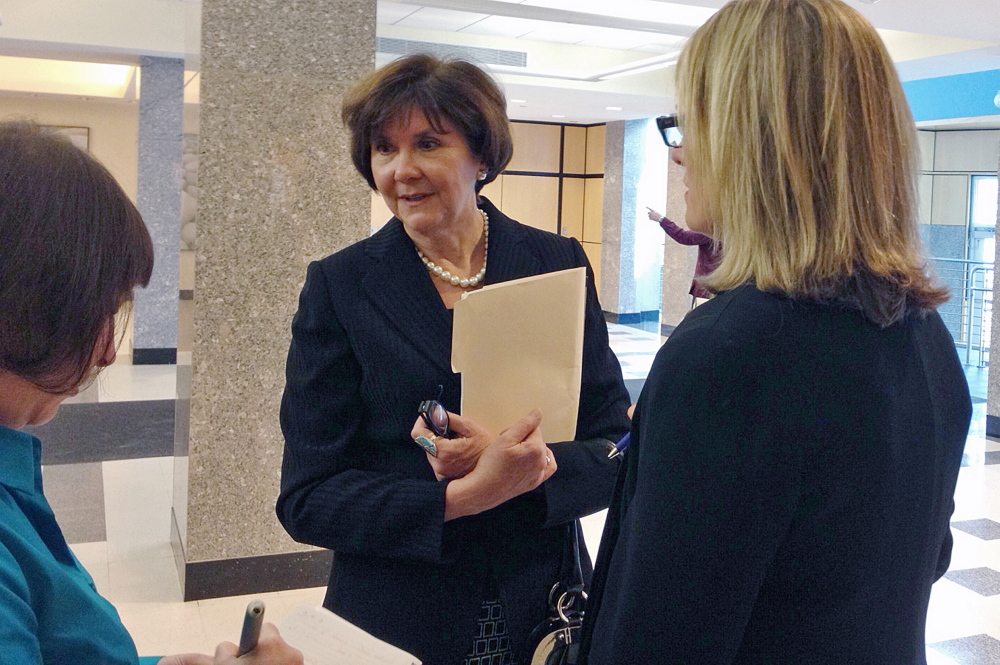 Former Maine Center for Disease Control and Prevention employee Sharon Leahy-Lind has filed a lawsuit claiming that her former superiors ordered her to shred documents related to grant awards, and that she was bullied and harassed when she refused. A judge Wednesday denied the state's request for some of her medical records, saying they were irrelevant to the case. Leahy-Lind's lawyer said the state is trying to make her client appear to be unstable.