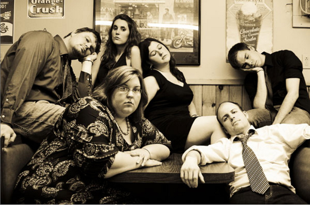Teachers Lounge Mafia, a western Maine improvisational theater troupe, will give three benefit shows on Thursday, Friday and Saturday to help send aspiring young improvisers to Boston for a day of workshops and performances. The shows will be in Rumford and Farmington.