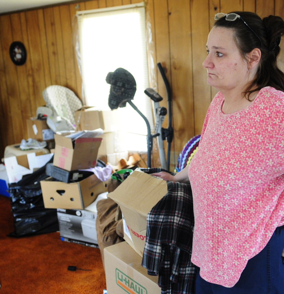 """I'm going to be in my car,"" says Norma Duperre, if she is forced to leave Meadowbrook Trailer Park. She's also worried about what would happen to her furniture and other belongings if she had to leave them in a vacant trailer park."
