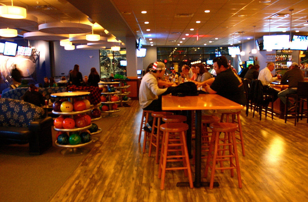 Easy Day in South Portland is a 10-lane ten-pin bowling alley, restaurant and bar that opened in March.