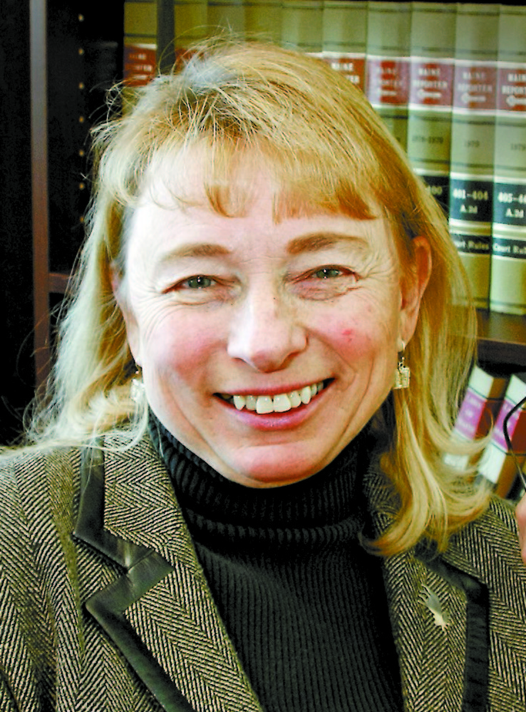Maine's Attorney General Janet Mills, pictured in 2009 in Augusta.