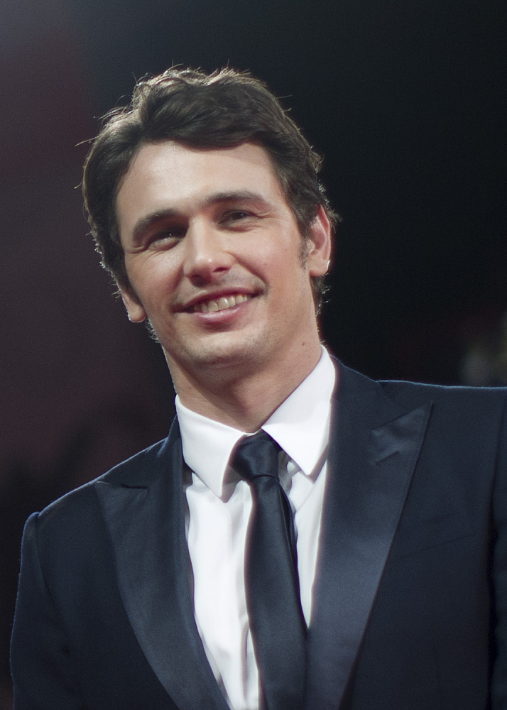 Actor James Franco is shown at the Venice Film Festival in 2013.