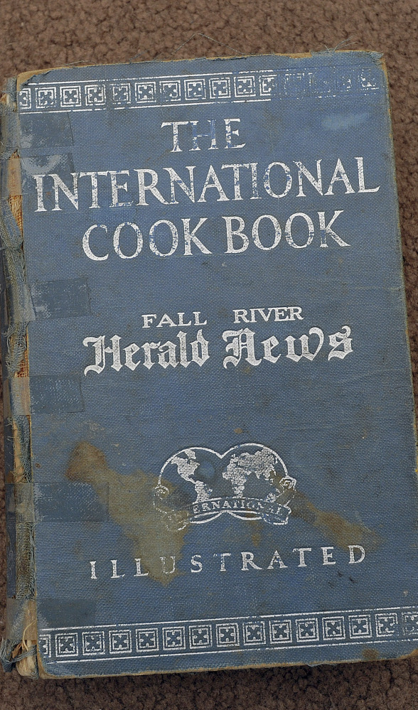"""""""The International Cookbook,"""" published by the Fall River Herald News in 1929, has recipes from chefs around the world."""