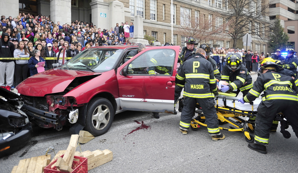 Portland\'s Cumberland Avenue reopens after accident simulation ...