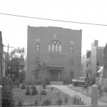 The Etz Chaim Synagogue on Congress Street, from the Sept. 17, 1941 Portland Press Herald (page 4).