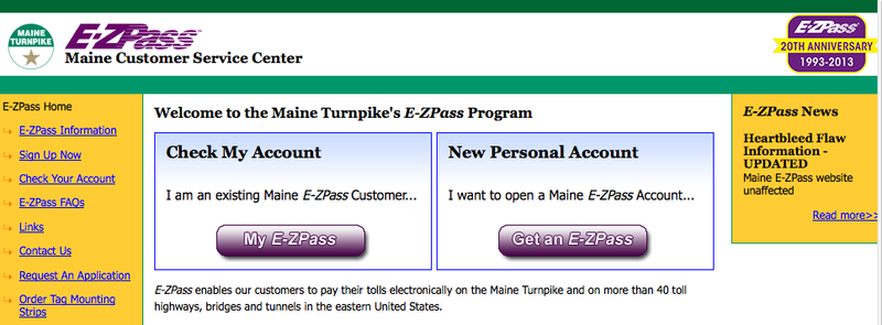 E-ZPass customers are encouraged to check their accounts to verify charges if they went through the Kennebunk toll plaza from January through March.