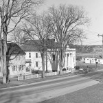 PORTLAND, ME - APRIL 22: Flashback photo of Stroudwater Baptist Church at the corner of Congress st. and Waldo st. in Portland. (Photo by John Patriquin/Staff Photographer)