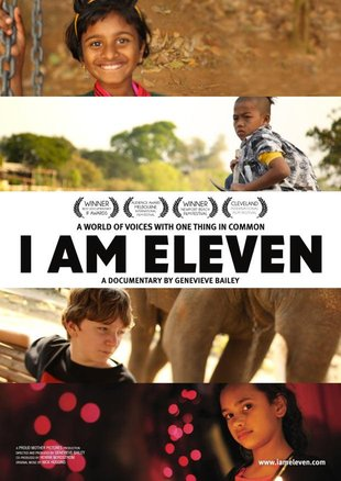"A movie poster for ""I Am Eleven."""
