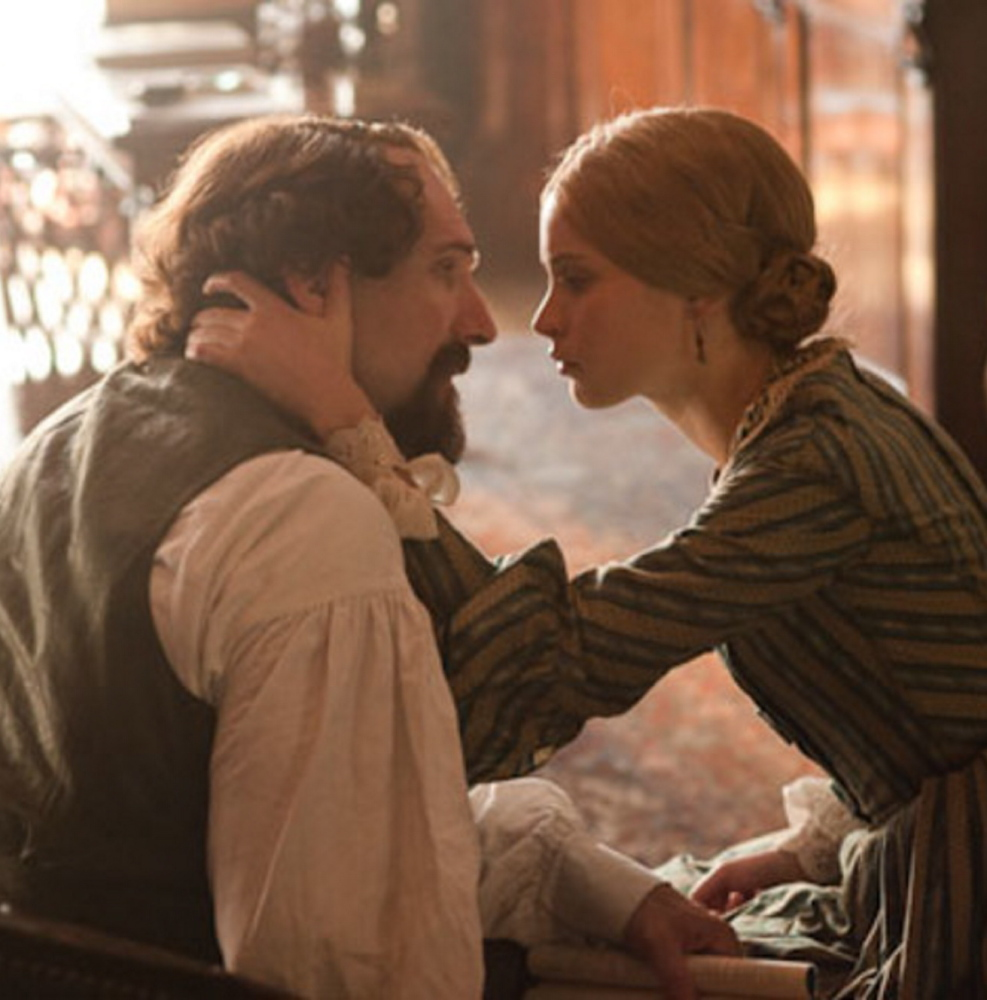"Ralph Fiennes and Felicity Jones in ""The Invisible Woman."""