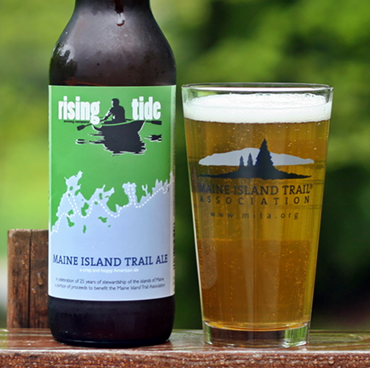 Rising Tide's Maine Island Trail Ale will soon be available in cans.