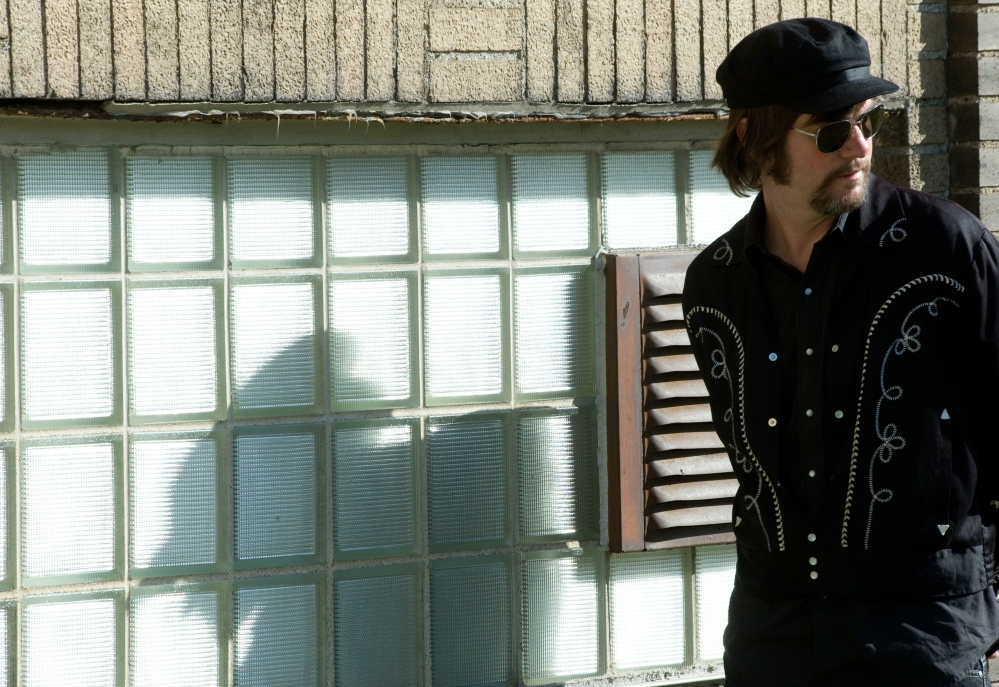 Jay Farrar, frontman for the alt-country band Son Volt, performs a solo show at The Strand Theatre in Rockland on May 8.