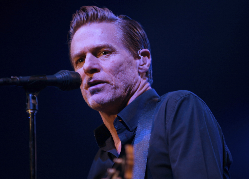 Canadian rocker Bryan Adams is at the Cumberland County Civic Center in Portland on Sunday.