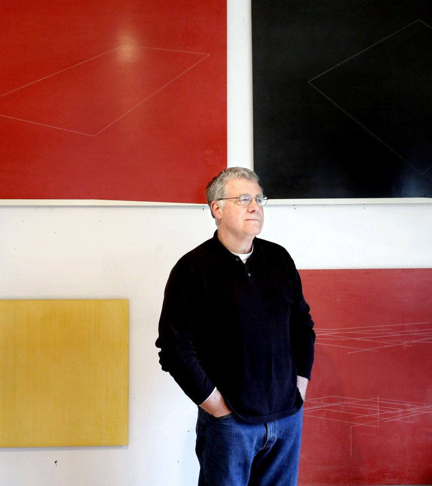"""Jeff Kellar of Falmouth received a $25,000 grant from the Adolph and Esther Gottlieb Foundation, which supports """"mature, creative painters and sculptors."""""""