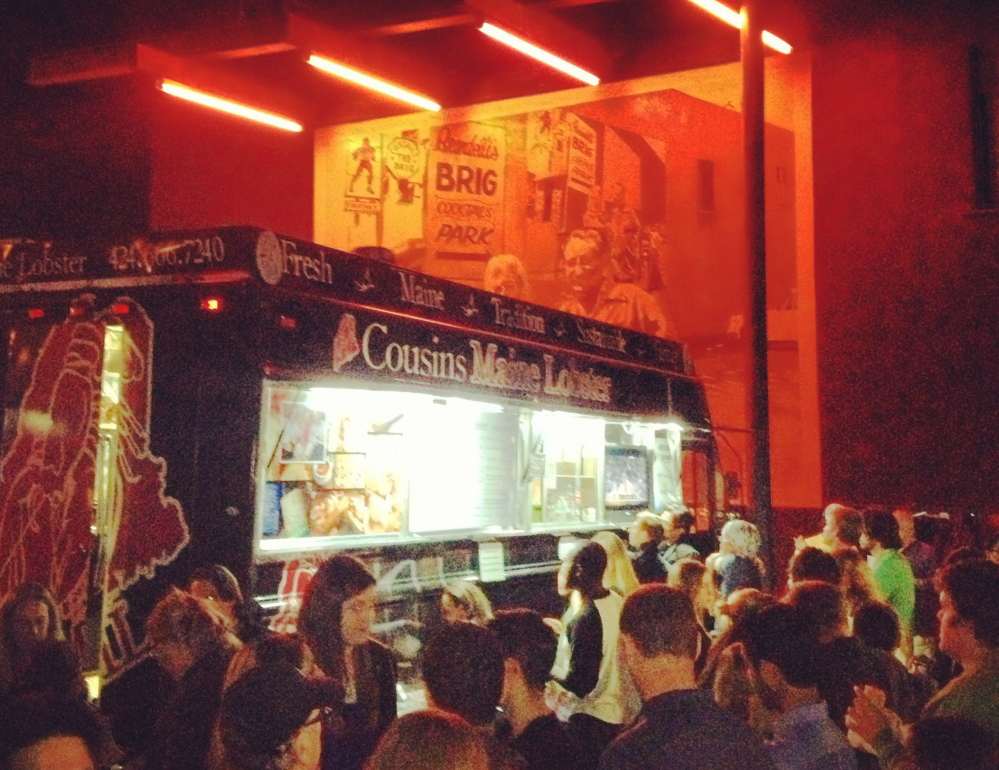 Cousins Maine Lobster has three food trucks operating in the Los Angeles area.