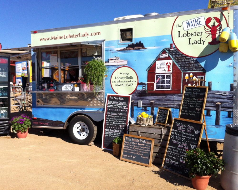 The Maine Lobster Lady, a lobster food truck business that operates in the Phoenix area, is owned by Isle au Haute residents Diana Santospago and Greg Runge. They operate the business in Phoenix each year from early November to mid-May, then return to Maine for the summer to run a lobster stand in their hometown.