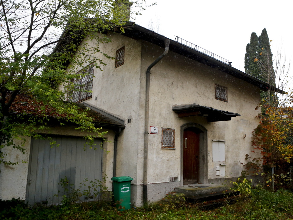 Cornelius Gurlitt, the reclusive son of war-time art dealer Hildebrand Gurlitt, kept more than 200 paintings in this dilapidated house in Salzburg, Austria. Hundreds of other paintings were confiscated from his Munich, Germany, apartment as possible Nazi-looted art.