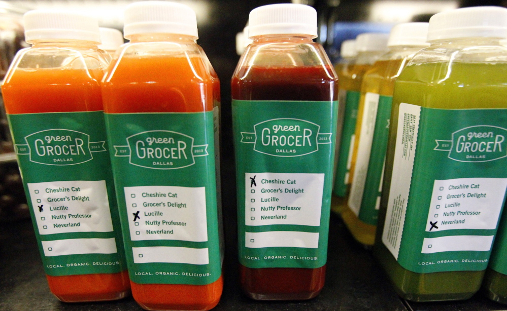 For those without the time or means to create their own, stores offer bottled juices ready to go.