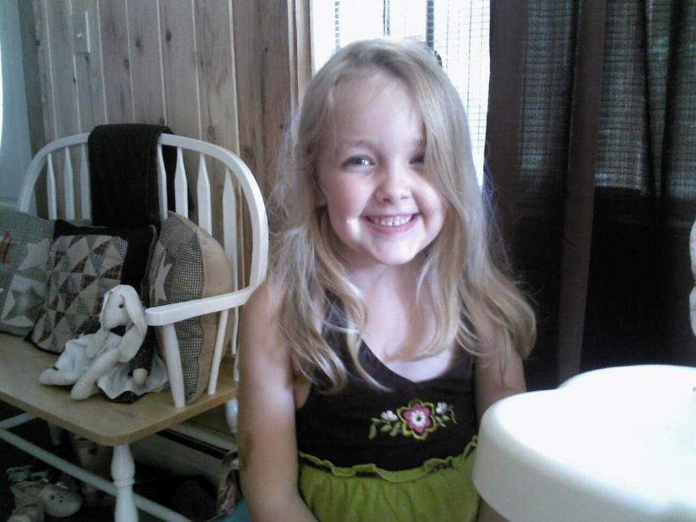 Avery Lane, 6, of Benton, died of the flu in December 2012. Her grave site in Fairfield has been vandalized three times, including twice over the weekend.