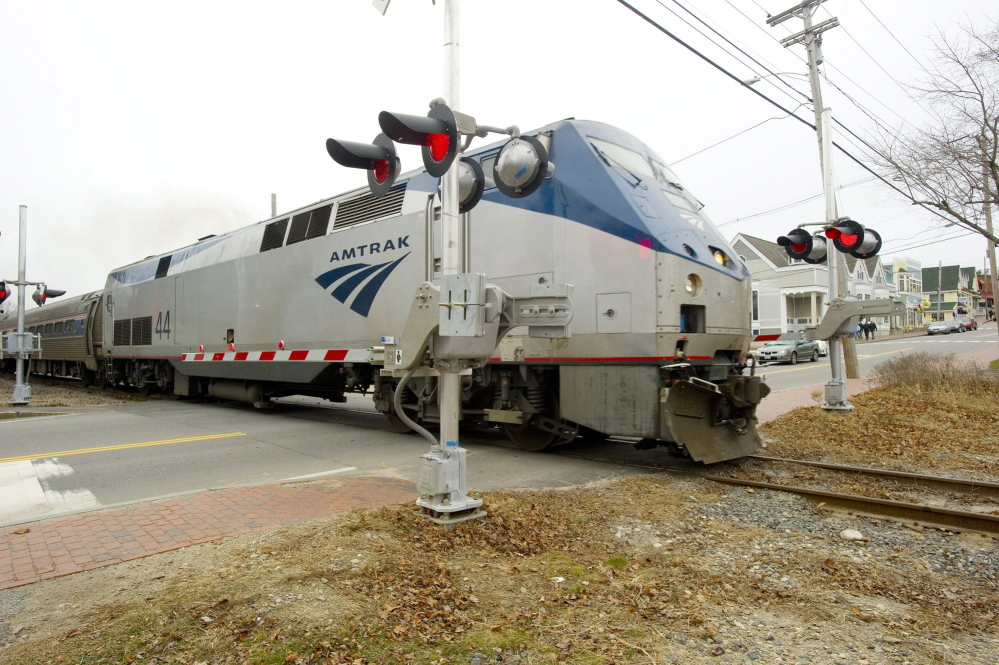 Celebrate National Train Day with tours of Amtrak's Downeaster in Brunswick and activities at the Maine Narrow Gauge Railroad and Museum in Portland.