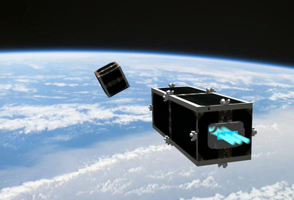 A possible solution to cleaning it up could be the Swiss-built CleanSpace One, an orbital garbage truck as illustrated by the Swiss Space Center of the Swiss Federal Institute of Technology.