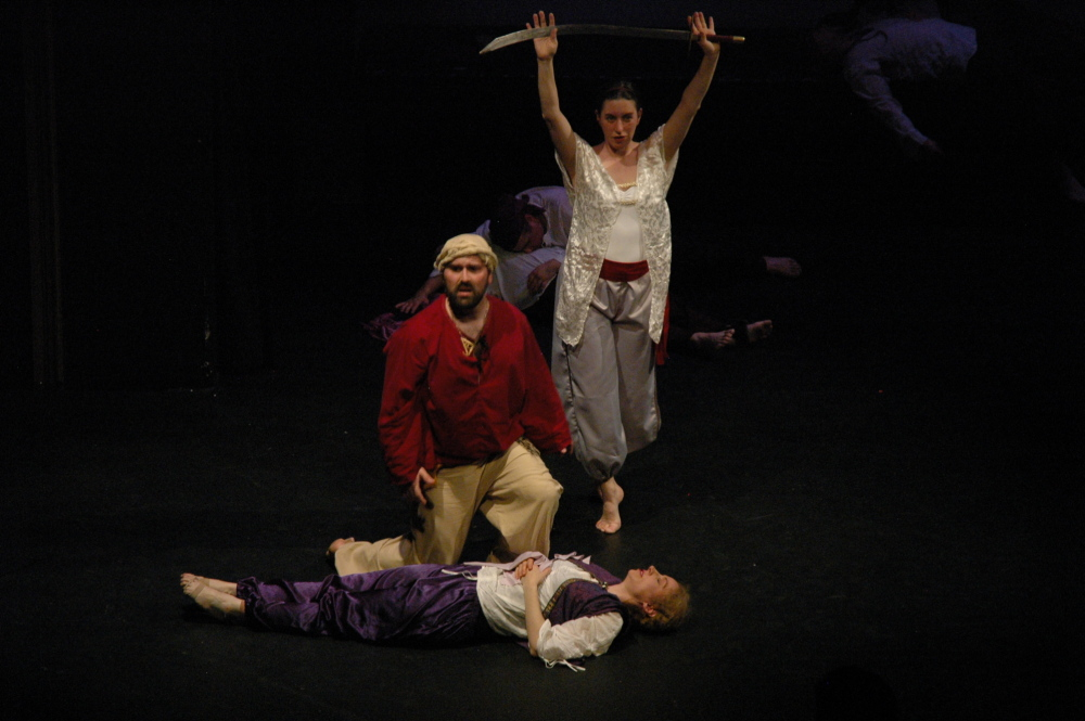 "Vivid Motion will present ""The Seven Voyages of Sinbad"" beginning May 15 at St. Lawrence Arts Center in Portland."
