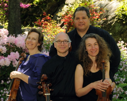 The DaPonte String Quartet performs Thursday through May 18 at concerts in Thomaston, Damariscotta, Portland and Topsham.