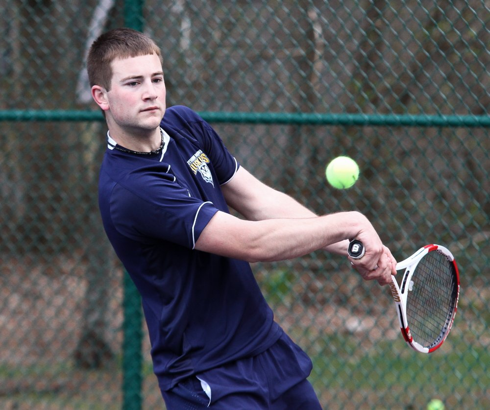 Tyler Adams' pedigree as an unheralded in-state player matched that of the USM men's tennis team, which just ended a 14-4 season.