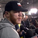 Shawn Thornton of the Bruins was fined $2,800 by the NHL for squirting water from the bench at Canadiens defenseman P.K. Subban on Saturday night.