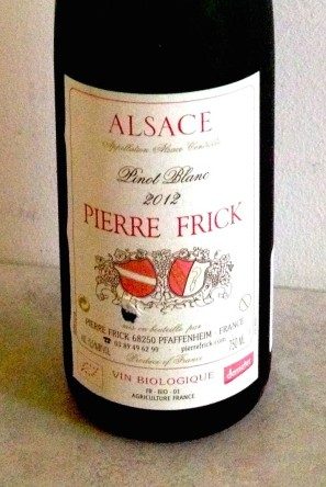 Pierre Frick wines, produced with organic viticulture and minimal handling, are wilder than many others from the Alsatian region of France.