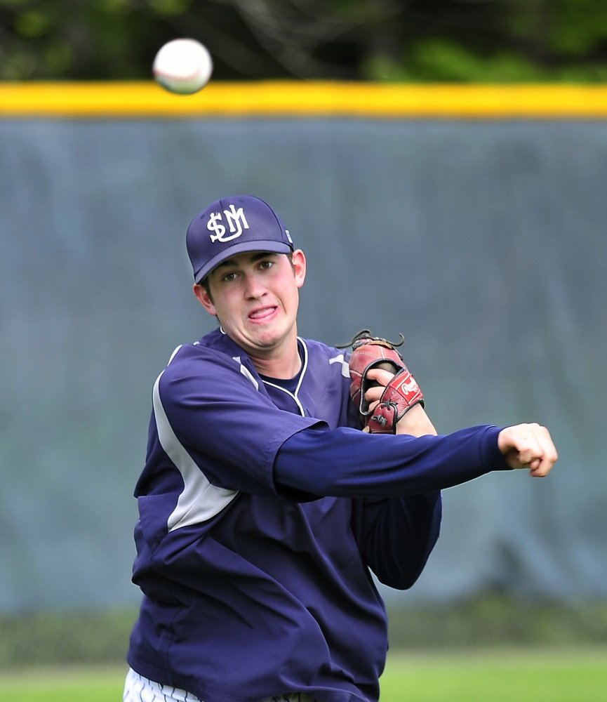 Relief pitcher Andrew Richards, who has a resilient right arm and a quirky humor, should play a key role for the University of Southern Maine in the NCAA Division III championships.