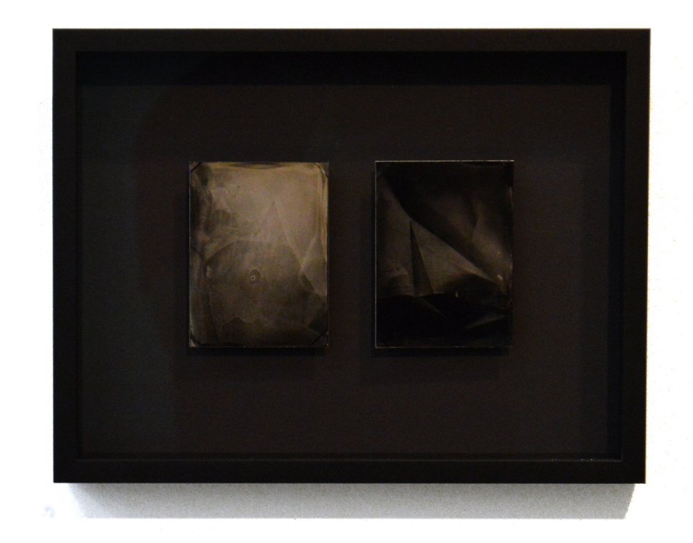 One of three tintype diptychs by Sage Lewis