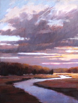 Work by Christine Bodnar is on view in Saco.