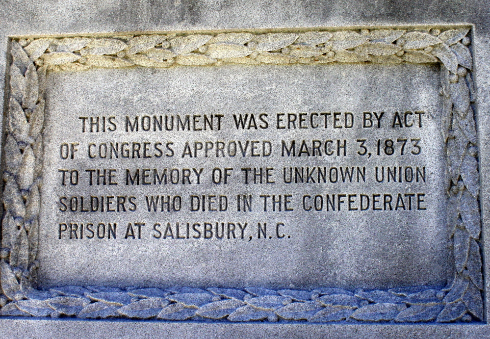 Salisbury National Cemetery in North Carolina honors the thousands of Civil War veterans who lie in mass graves on the site of the former Confederate-operated Salisbury Prison, but doesn't name Joseph Herrick.