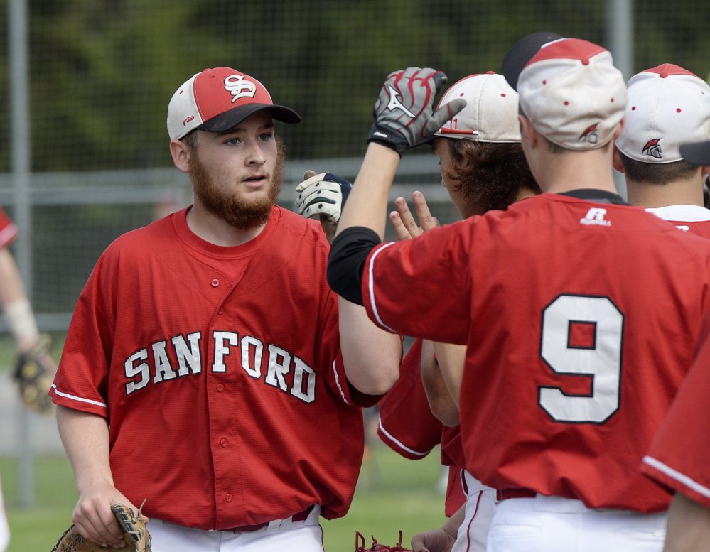 It's easy to tell who C.J. Bolduc is at a Sanford High baseball game. He's encouraging teammates, getting fans involved and hopefully, before the end of the season, getting that chance to take the field.