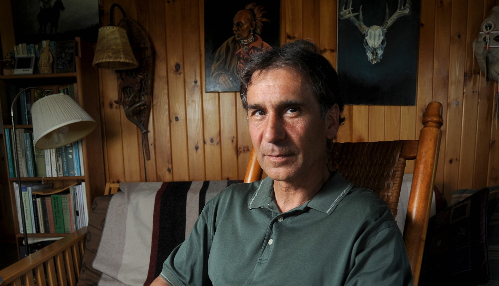 Barry Dana of Solon, a former chief of Maine's Penobscot Nation, says American Indian nicknames may come from good intentions, but the end result is they perpetuate a stereotype. Michael G. Seamans/Morning Sentinel