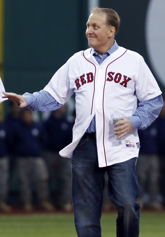 Curt Schilling, with no trace of blood on his socks, made a welcome return, 10 years after his courageous performances. The Associated Press