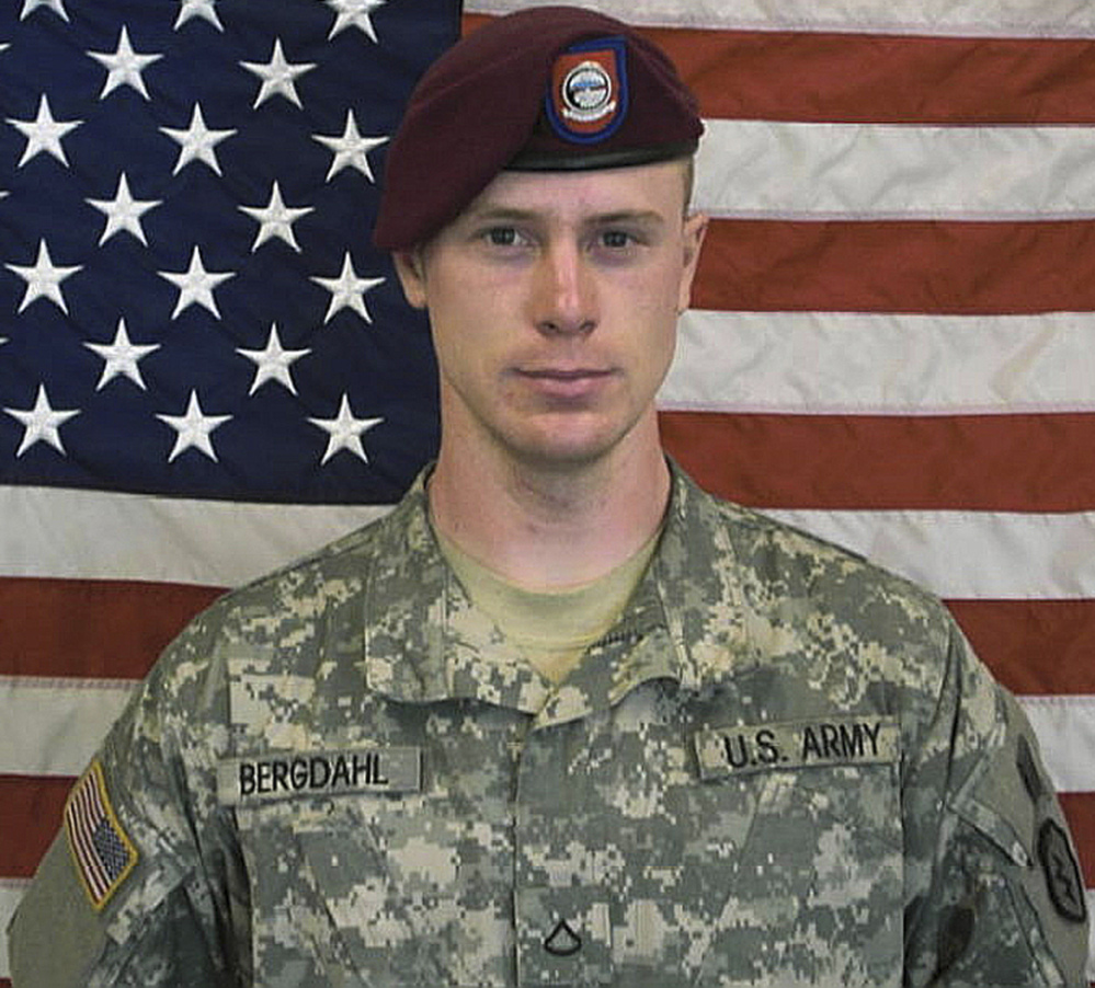 Sgt. Bowe Bergdahl. the only American soldier held prisoner in Afghanistan, has been freed and is in U.S. custody. The Associated Press